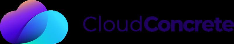 cloud concrete logo